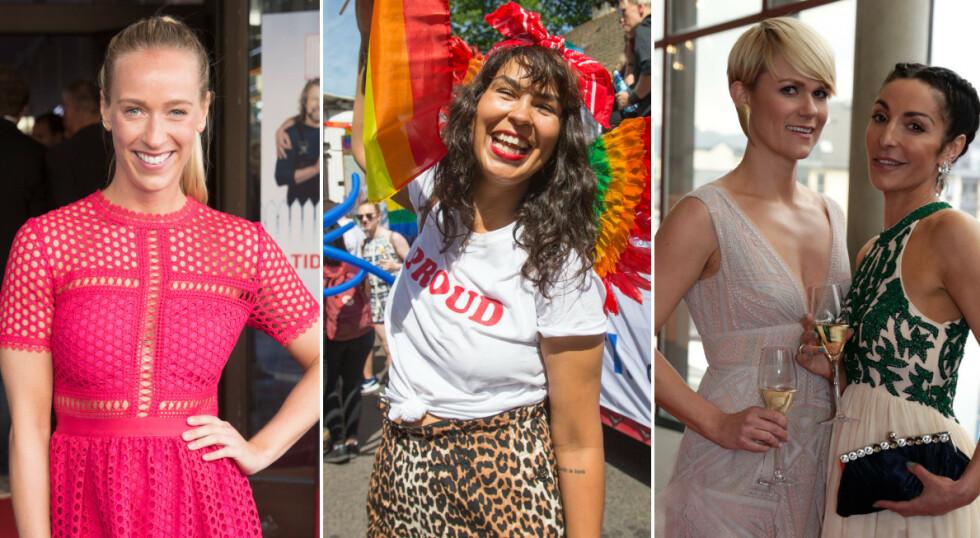 KVINNEDAGEN: Flere norske kjendiser har tatt til sosiale medier for å markere kvinnedagen, deriblant Katarina Flatland, Maria Mena, Sigrid Bonde Tusvik og Lisa Tønne. Foto: NTB Scanpix