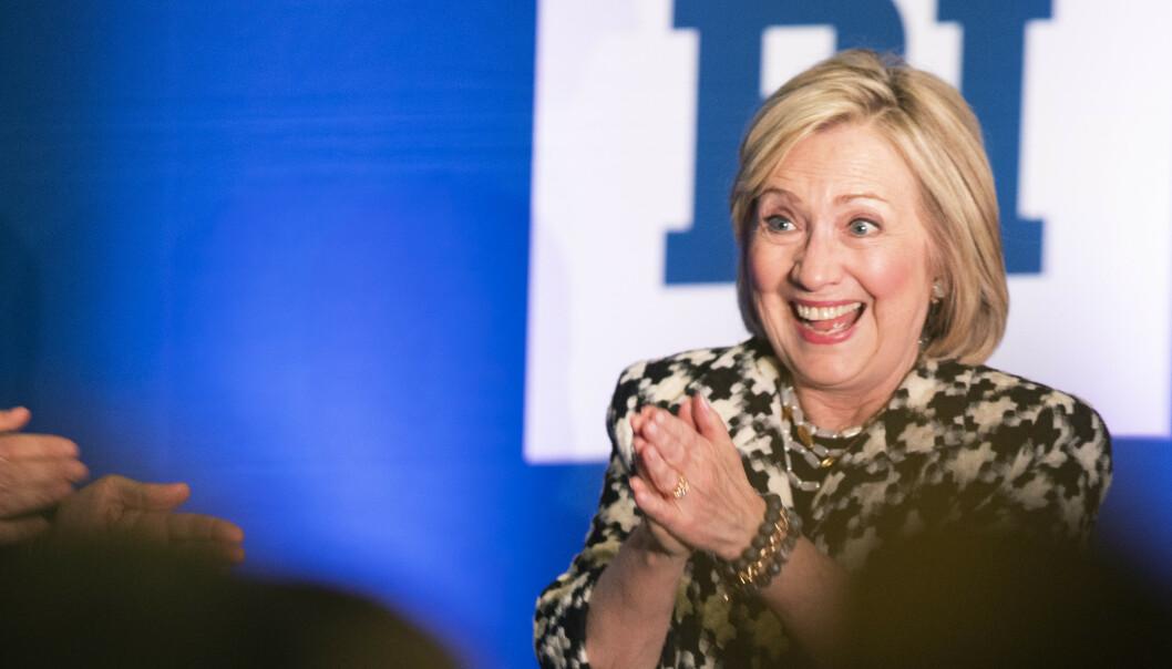 Clinton i Norge: Stiller ikke til valg igjen