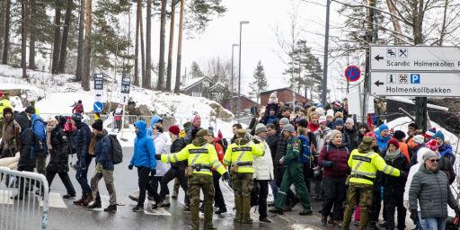 image: Masseslagsmål i Holmenkollen: 16-åring slått ned