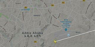 image: - Flygeren meldte om trøbbel like etter avgang