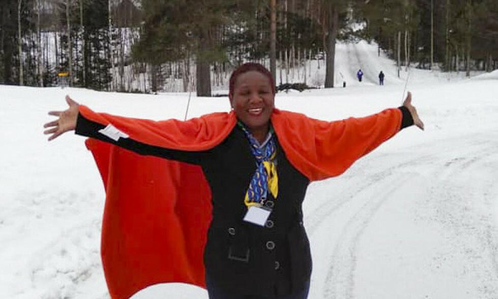 OMKOM: Julia Mwashi var på vei hjem fra Norge da flyet fra Addis Abeba styrtet søndag. Foto: Robina Asiimwe Sentumbwe/Norec / NTB scanpix