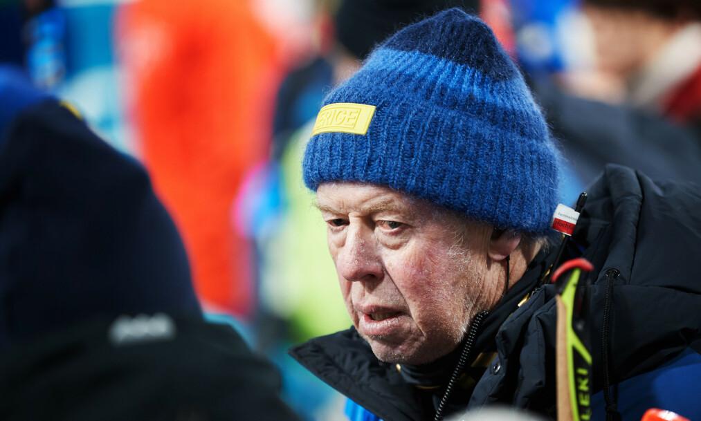 Sveriges skiskyttertrener Wolfgang Pichler er sliten og gir seg i jobben snart. Foto: Andreas Hillergren, TT / NTB scanpix