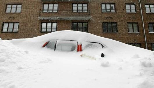 Glem våren! Nå er det varslet en halvmeter snø