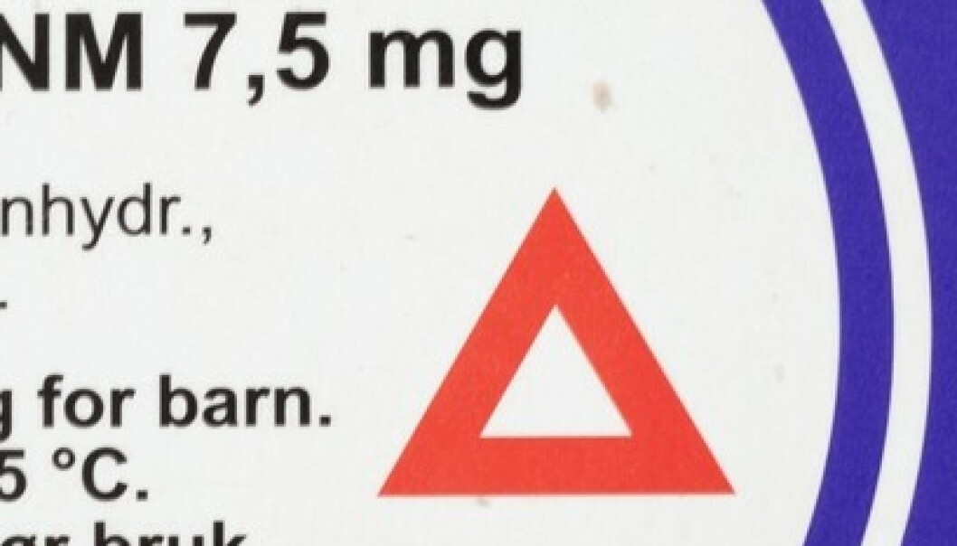 Jo, du kan kjøre bil selv om du tar medisin med rød trekant