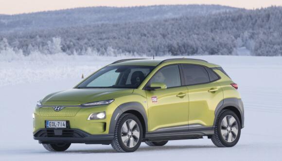 NUMMER TO: Hyundai Kona leverte sterkt, og endte på en andreplass i juni.