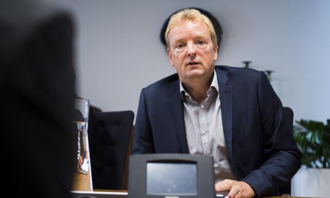 OPPÅ VEIEN: Terje Halleland (Frp), medlem i Stortingets energi- og miljøkomité, opplyser at han har ingen problemer med at Carl I. Hagen engasjerer seg på hans felt. Foto: Jon Olav Nesvold / NTB scanpix