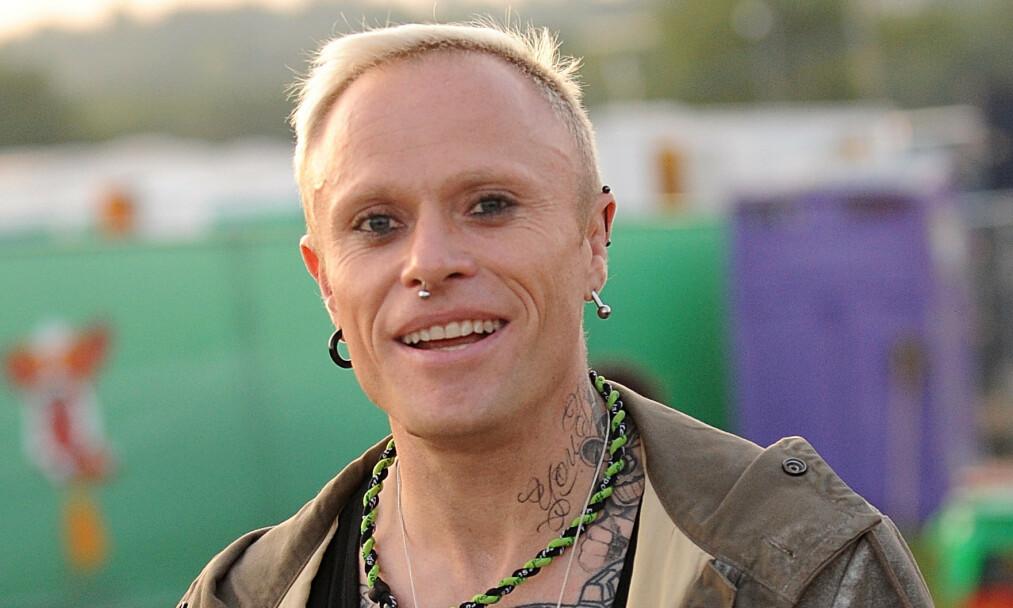 DØD: The Prodigy-vokalist Keith Flint ble mandag morgen forrige uke funnet død i sitt hjem. Foto: Christian Roth Christensen.