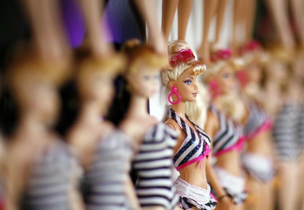 DEN GANG DA: Det er hele 60 år siden Barbie ble introdusert på markedet. FOTO: NTB Scanpix