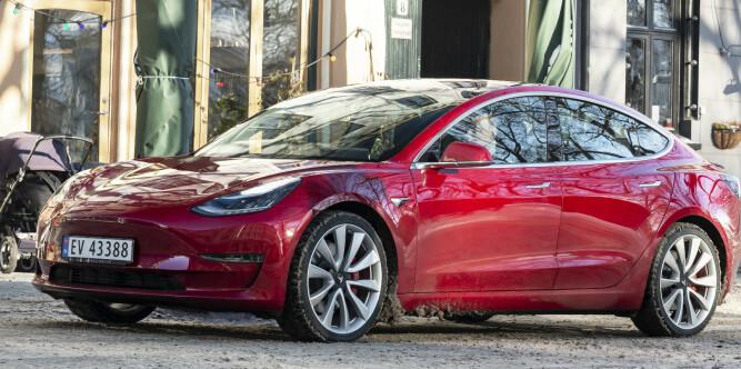 Tesla var fjorårets mest solgte elbil