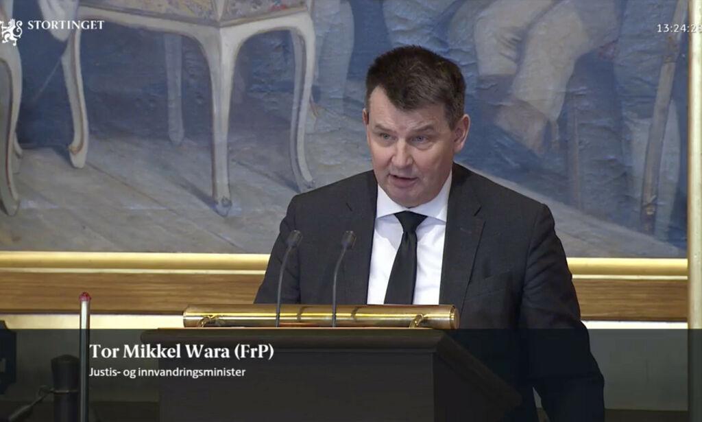 image: Spesiell seanse i Stortinget