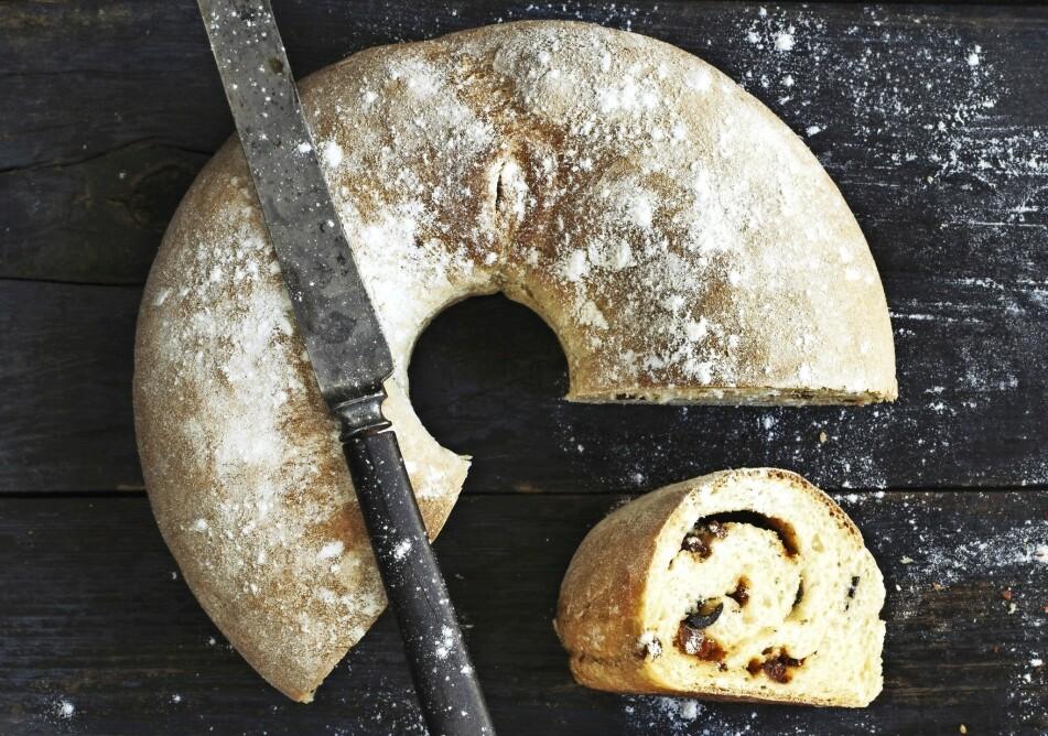 BRØDKRANS: Brød må være noe av det beste som finnes - er du ikke enig? FOTO: Columbus Leth