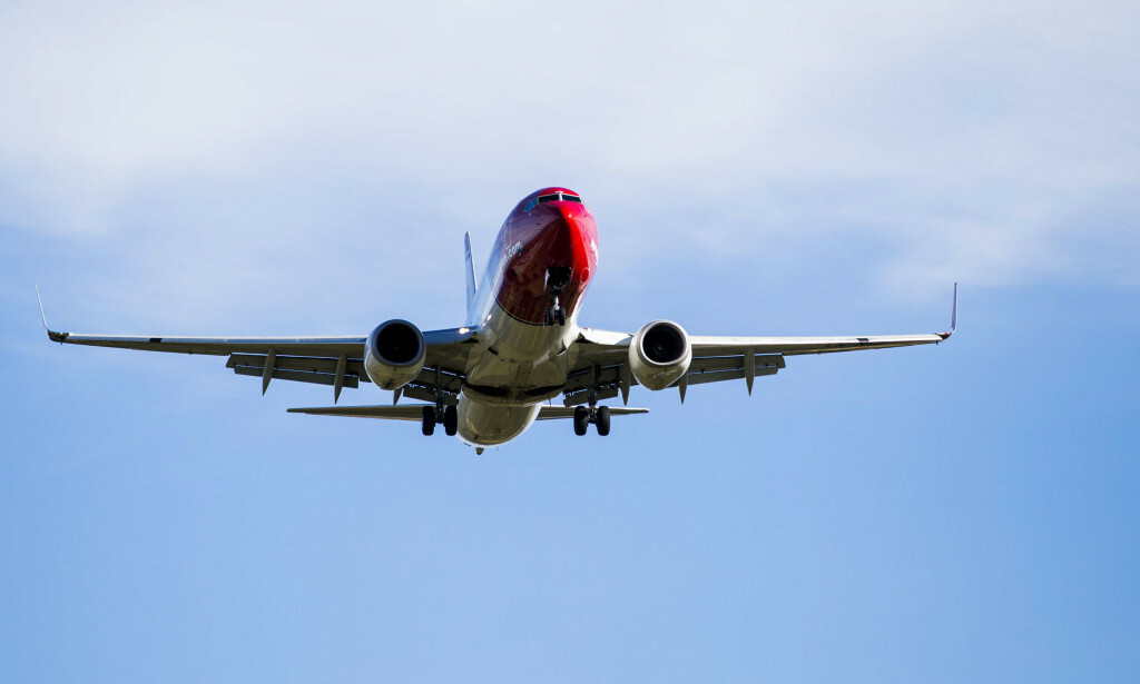 PÅ BAKKEN: Norwegian har satt Boeing 737 MAX 8-fly på bakken. Foto: Håkon Mosvold Larsen / NTB scanpix