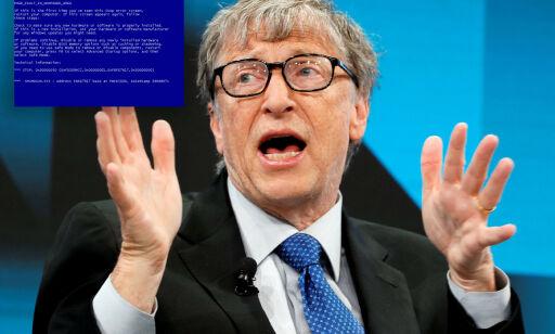 image: Da Bill Gates fikk blåskjerm på direkten