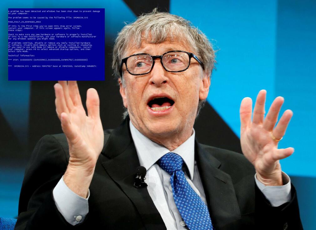 Bill Gates er ikke lenger ansikt utad for Microsoft, slik han var på 90-tallet.📸: NTB Scanpix