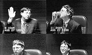 Bill Gates fra rettsaken mot den amerikanske stat i 1998. 📸: Public Domain / Wikipedia