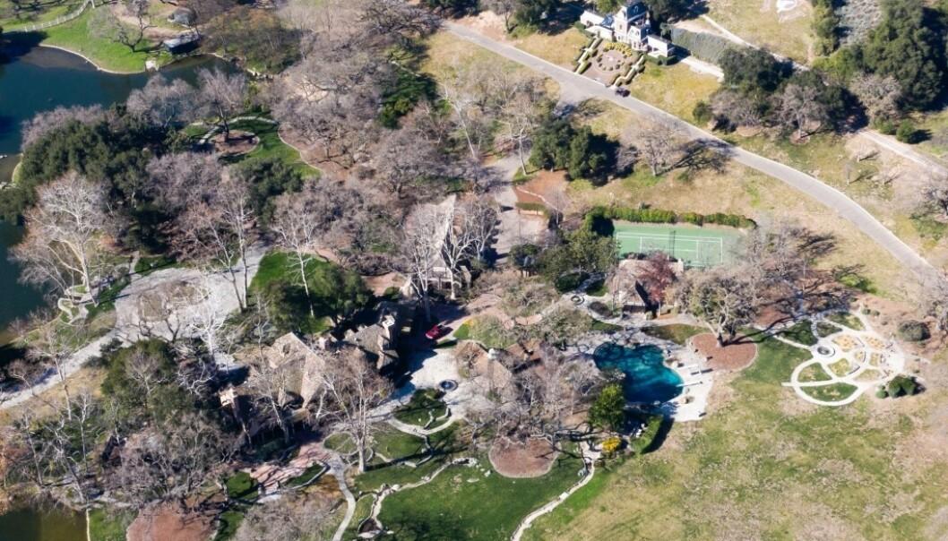 <strong>ENORMT:</strong> Michael Jackson hadde hele tolv kvadratkilometer å boltre seg på. Foto: NTB Scanpix