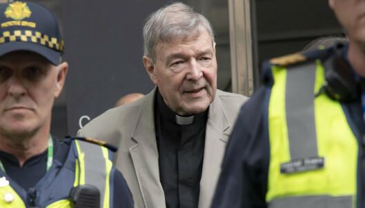 Kardinal Pells dømt for overgrep av korgutter