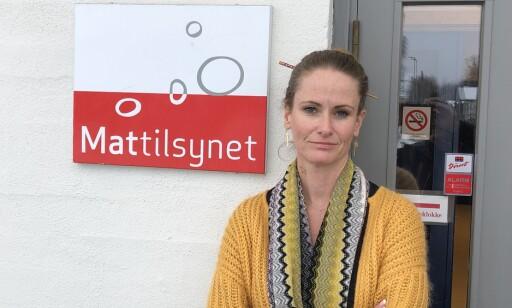FØLGER OPP: Avdelingssjef Ingrid Elisabeth Bjerke-Matsson ved Mattilsynet, Glåmdal og Østerdal.