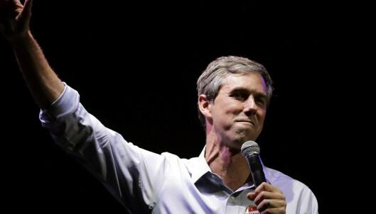 Medier: Beto O'Rourke vil bli USAs neste president