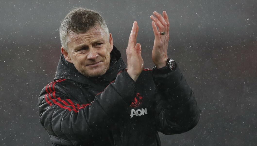 <strong>HAR HATT SUKSESS:</strong> Ole Gunnar Solskjær har fått en drømmestart som manager i Manchester United. Foto: Darren Staples/Sportimage via PA Images/NTB Scanpix