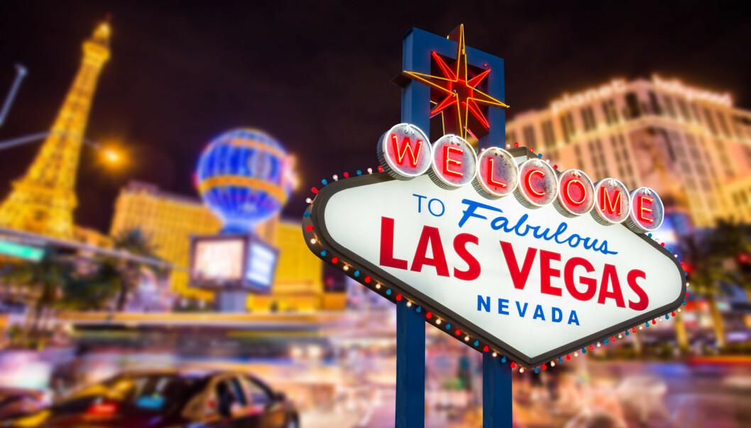 WHAT HAPPENS IN VEGAS: La det glamorøse gamblerlivet begynne. Eller ... FOTO: NTB Scanpix