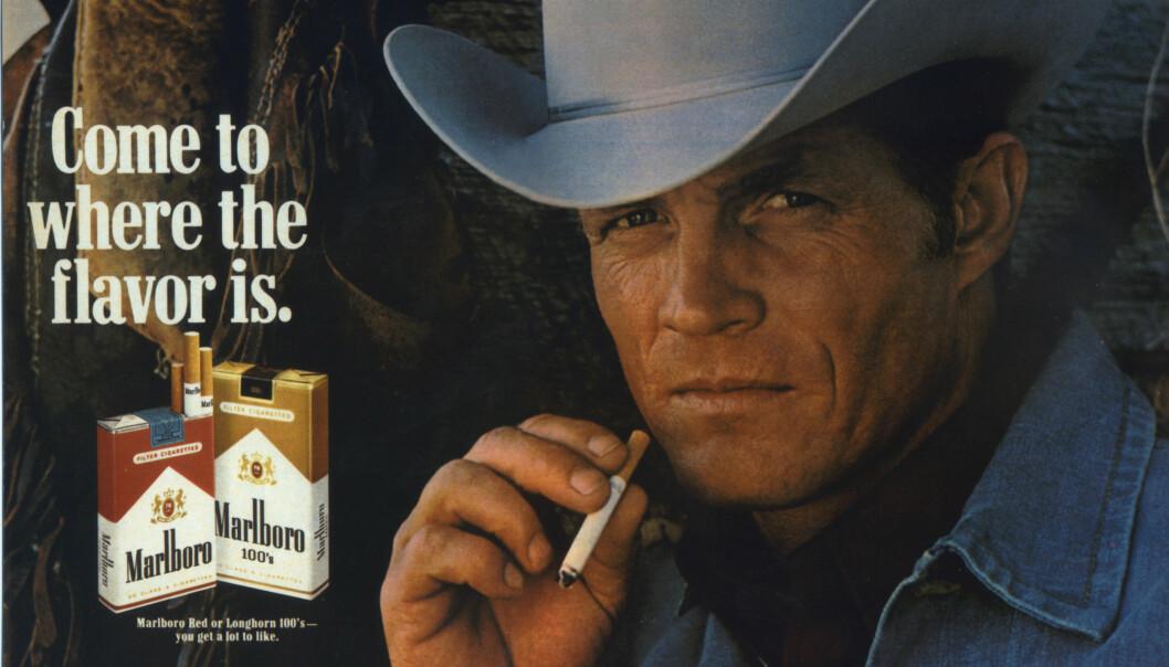 DEN AMERIKANSKE DRØMMEN: Alltid klar for et magadrag med smak av Amerika. FOTO: NTB Scanpix