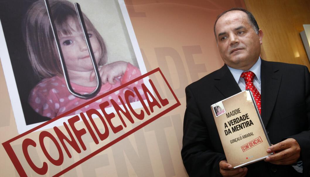 <strong>GA UT BOK:</strong> Etterforsker Goncalo Amaral har vært svært omstridt i McCann-saken, og har blant annet gitt ut bok om forsvinningssaken. Foto: AP/ NTB scanpix