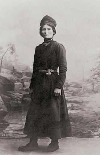<strong>SAMISK:</strong> Elsa Laula Renberg. Bildet hentet fra boka.