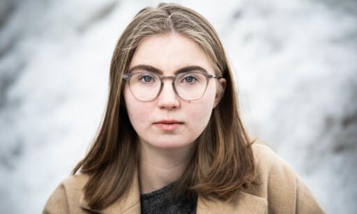 Hulda Holtvedt i Grønn Ungdom. Foto: Magnus Skrede/MDG