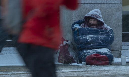 image: Høyre: Det er en menneskerett å tigge