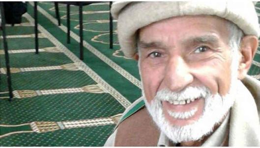 <strong>DREPT:</strong> 71 år gamle Haji-Daoud Nabi døde under terroren. Han skal ha dødd da han prøvde å beskytte en annen person fra å bli skutt av terroristen. Foto: NTB Scanpix /Shutterstock