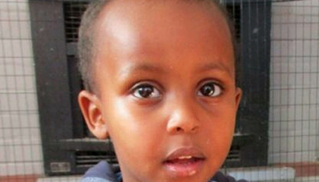 <strong>SAVNET:</strong> ingen har sett tre år gamle Mucad Ibrahim siden skytingen. Guttungen var i Al Noor-moskeen sammen med familien sin. Foto: NTB Scanpix Shutterstock