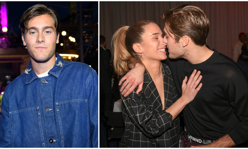 SINGEL: Den svenske artisten og tv-profilen Benjamin Ingrosso bekrefter at han og Linnea Widmark ikke lenger er et par. Foto: NTB Scanpix