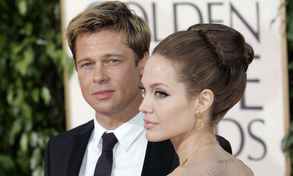 EKSER: Det stormer stadig rundt Brad Pitt og Angelina Jolie, selv om det er godt over to år siden de bestemte seg for å skilles. Foto: NTB scanpix