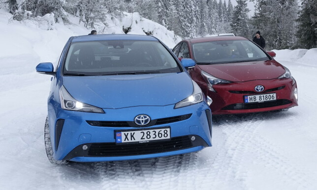 FACELIFT: Vi ønsker de nye endringene velkommen. De er få, men gjør bilen mindre kontroversiell og enklere å like. Foto: Rune M. Nesheim