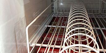 image: Ny pizza rives bort: - Jobber på spreng for å fylle opp