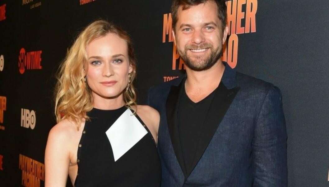 EKSKJÆRESTEN: Fra 2006 til 2016 var Diane Kruger sammen med skuespilleren Joshua Jackson. Her var de sammen på et event i Las Vegas ett år før det ble slutt. Foto: NTB Scanpix