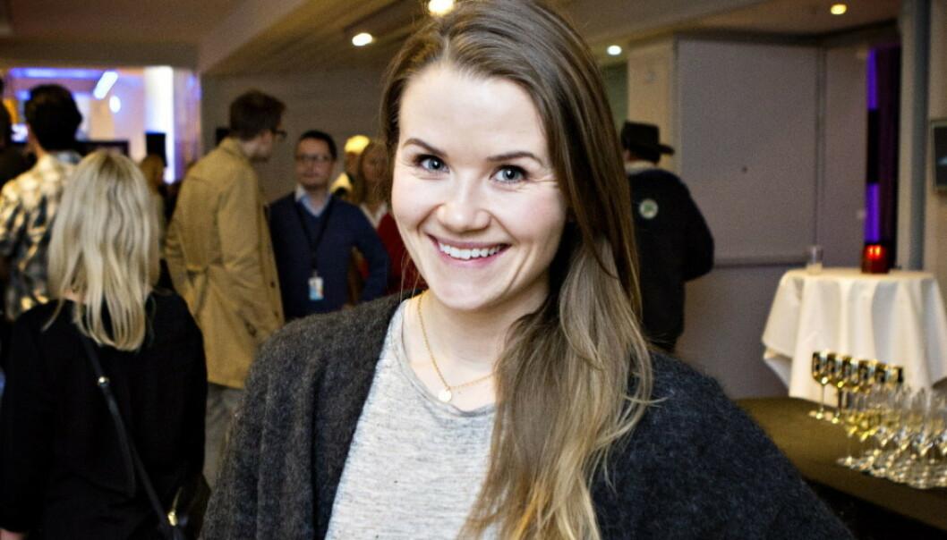 <b>REAGERER: </b>Programleder Live Nelvik mener Sophie Elise Isachsen ikke burde delt innlegget om at hun fikset på hodebunnen. Foto: Nina Hansen / Dagbladet