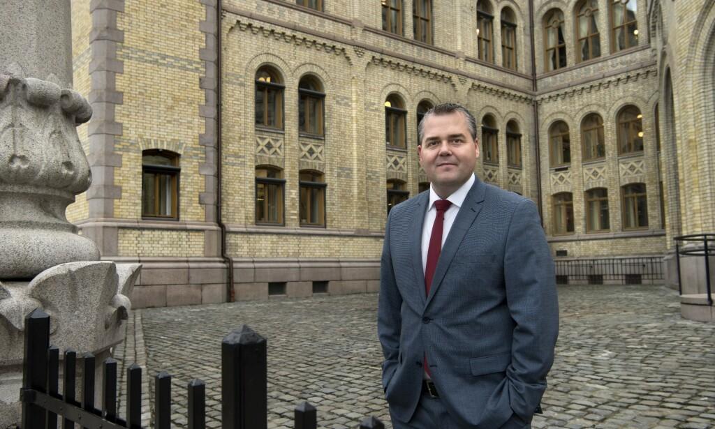 SLETTET INNLEGG: Frp-politiker Roy Steffensen måtte slette innlegg på Facebook etter flere hatefulle kommentarer. Foto: Mimsy Møller/Samfoto