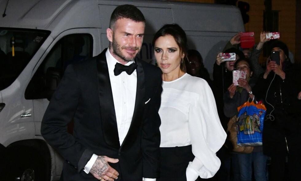 SIKTET: David Beckham er siktet for brudd på trafikkreglene. Foto: REUTERS/Regis Duvignau