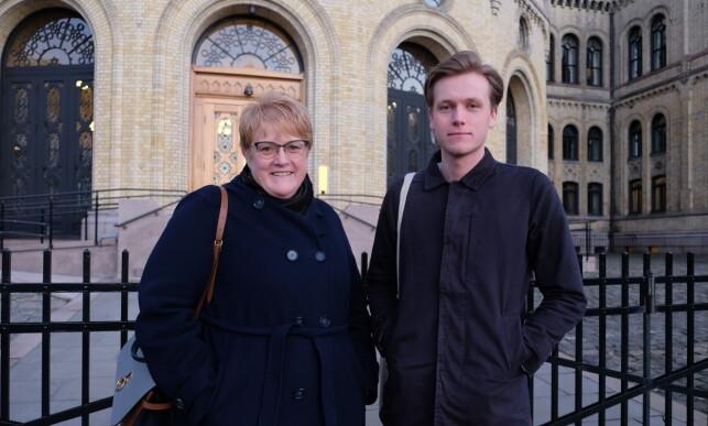 STORTINGET: Ifølge en LNU-rapport fra 2017 var 17 av 169 stortingsrepresentanter under 30 år da de ble valgt inn i 2013, noe som tilsvarer ti prosent. Foto: Tharald Halvorsen / Dagbladet
