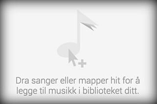 PÅ NETT: Google lar deg laste opp inntil 50.000 sanger som du kan strømme direkte, uten at de trenger å være lagret på telefonen din. Foto: GOOGLE