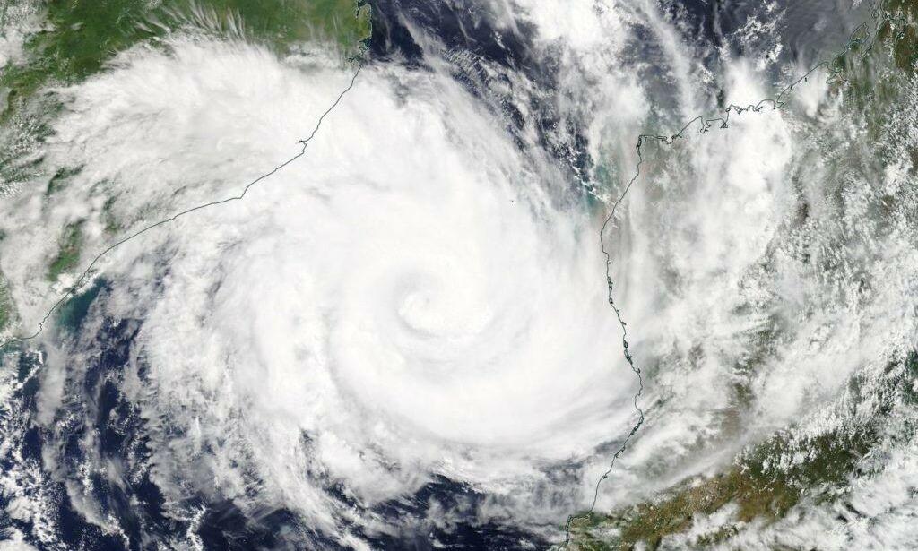 image: Dødssyklonen ryddet en by større enn Oslo av kartet