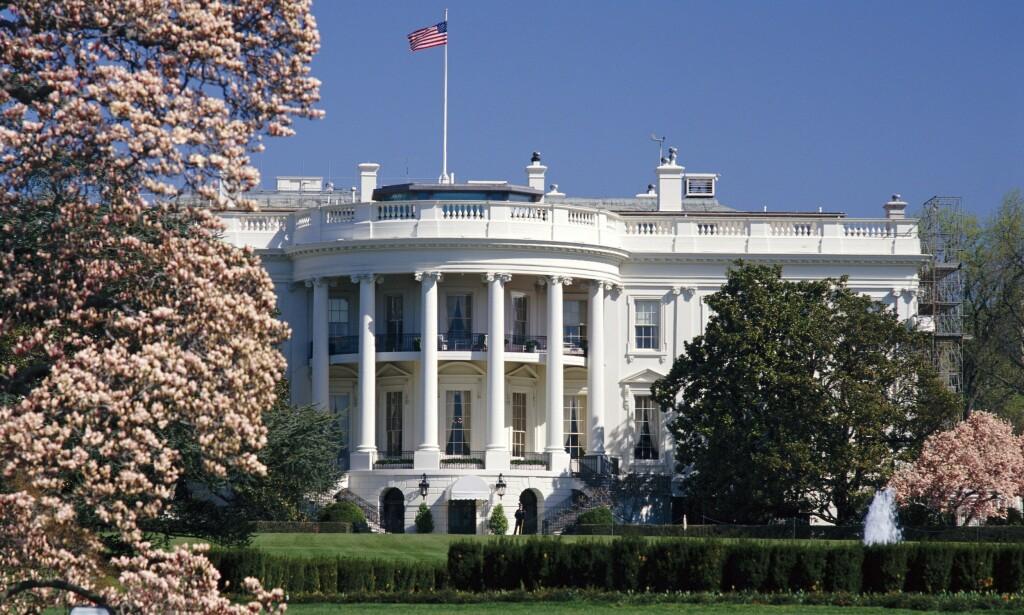 DET HVITE HUS: I 2009 flyttet Obama-familien inn i Det hvite hus i Washington D.C. Der ble de boende i åtte år. Foto: NTB Scanpix