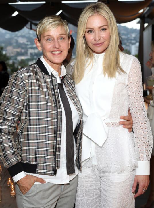 ELLEN AND PORTIA: Taken by Cèis Star in Los Angeles in June 2018. Photograph: NTB scanpix