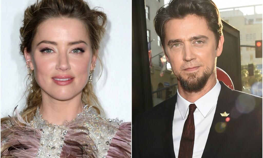 NYTT PAR? Amber Heard blir koblet til skrekkfilm-regissøren Andy Muschietti. Foto: NTB Scanpix