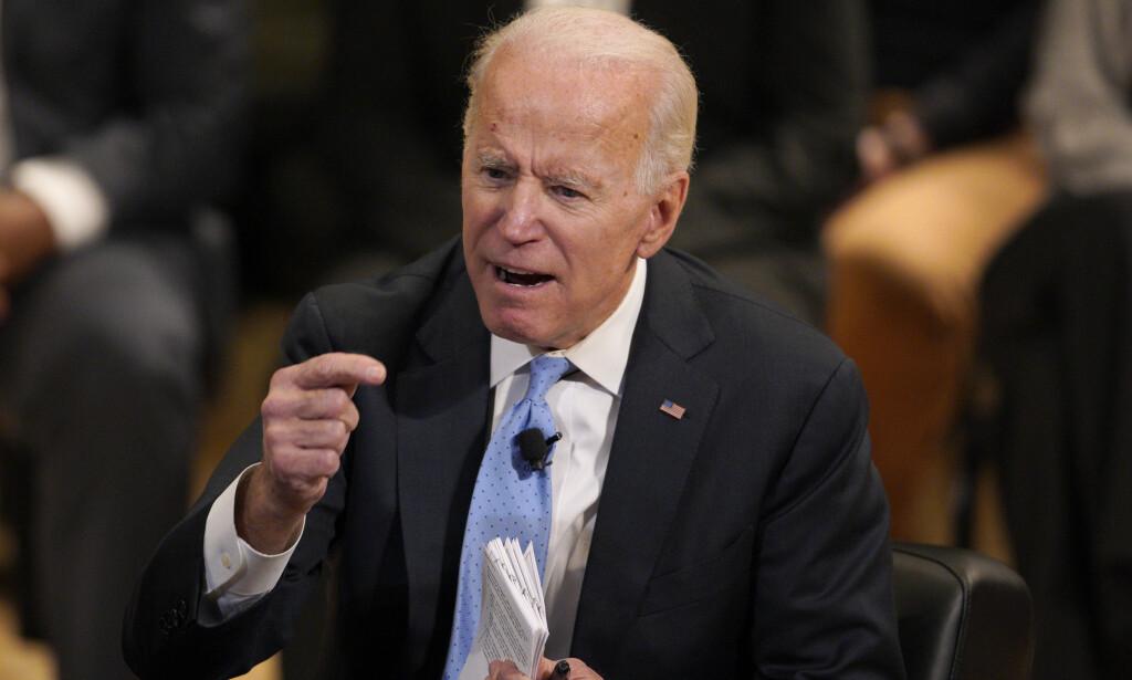 Tidligere visepresident Joe Biden skal ha planer om å gå for presidentjobben. Foto: Nati Harnik / AP / NTB scanpix