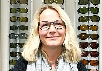 HA RIKTIG AVSTAND: Hanne-Mari Schiøtz Thorud mener du burde tenke mer på avstanden og vinkelen til skjermen du ser på Foto: Dag Øyvind Olsen