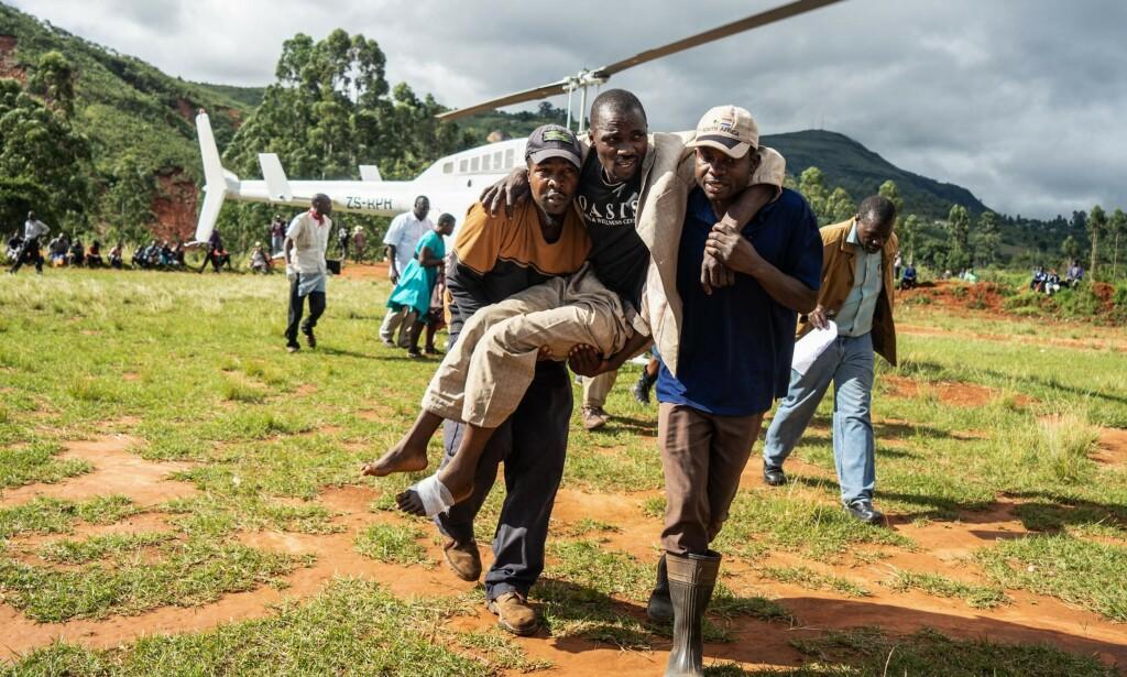 KATASTROFE: Over 200 personer er bekreftet omkommet i Mosambik, men det er forventet at tallet er minst fem ganger så høyt. Foto: NTB Scanpix