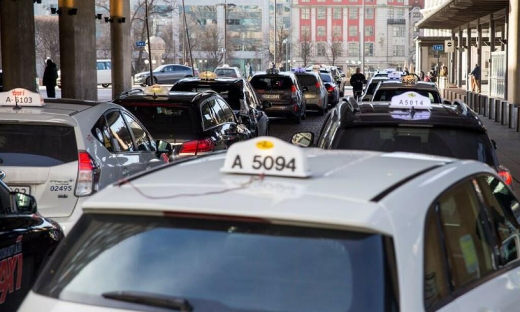 TRÅDLØST: Oslo S er en av stasjonene som skal få trådløs hurtiglading for el-taxier. Foto: Stian Mathisen, Fortum